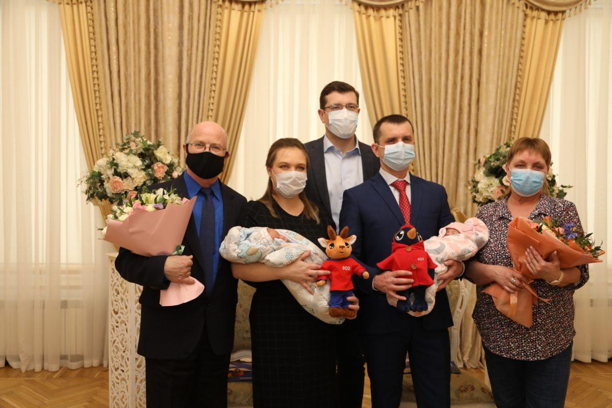 Глеб Никитин вручил первые медали «Родившемуся вНижегородской области»