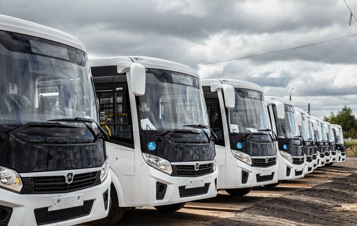 На дороги Дзержинска выйдут новые автобусы