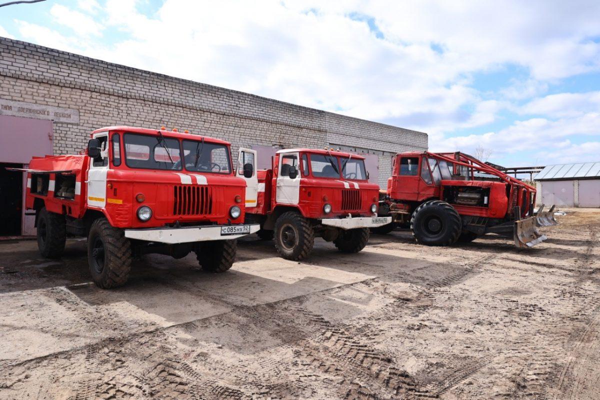 Чрезвычайная пожароопасность лесов в Нижегородской области сохранится до 10 сентября