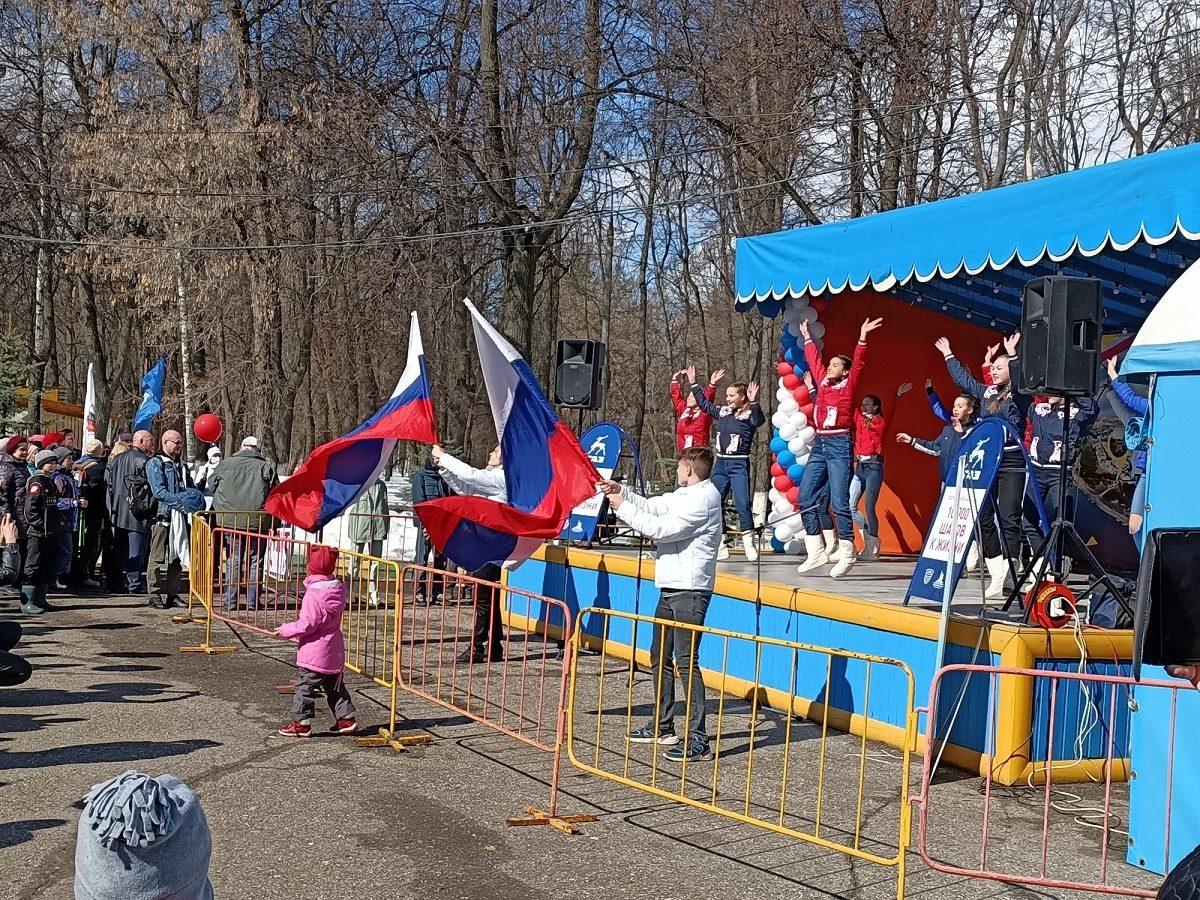 Всероссийская акция «10000 шагов кжизни», приуроченная кВсемирному дню здоровья, прошла вНижнем Новгороде