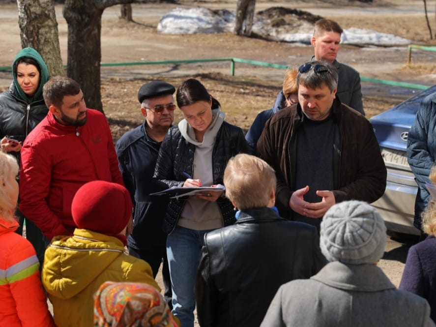 Глава Дзержинска провел очередную встречу с жителями