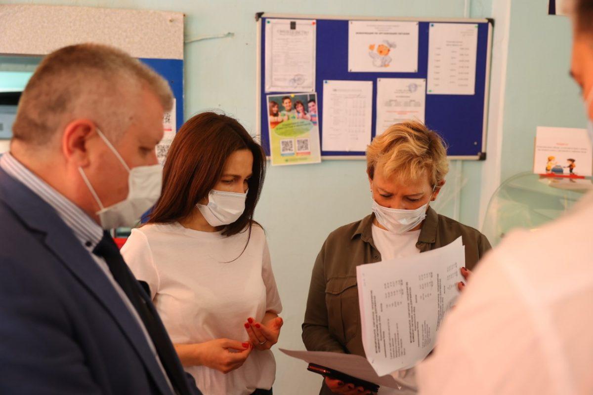 Администрация Дзержинска завершила проверку школьного питания