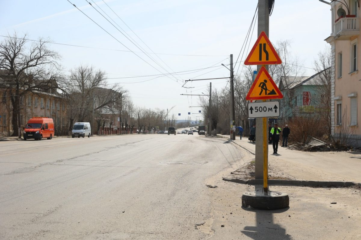 В Дзержинске приступили к ремонту дорог