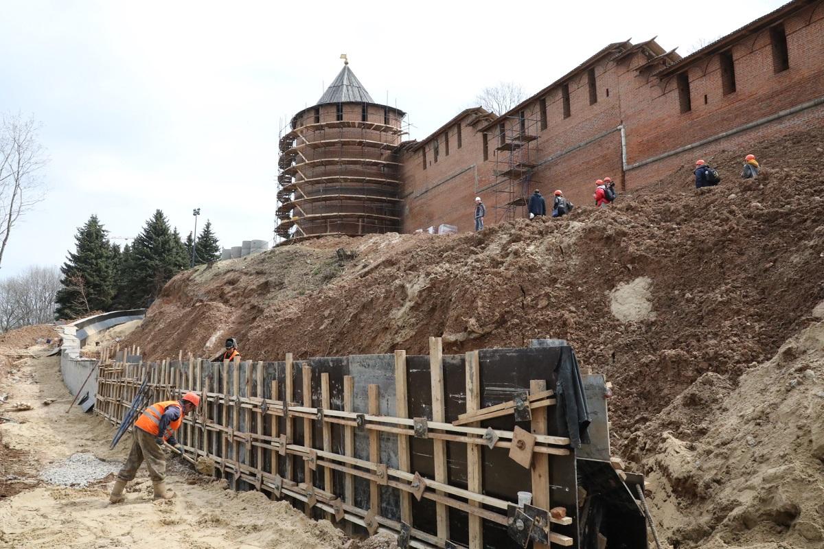 реставрация кремля