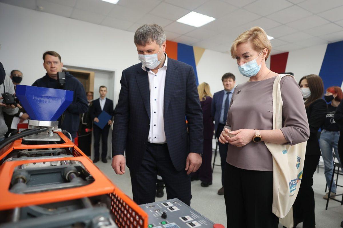 В Дзержинске открылась мастерская по переработке пластика
