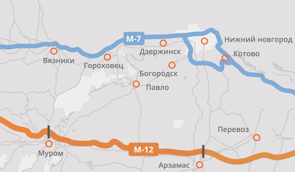 Проект подготовки четвëртого этапа М-12 прошëл госэкспертизу
