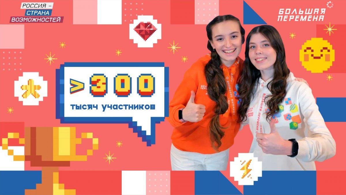 Нижегородская область— влидерах почислу заявок наконкурс «Большая перемена»