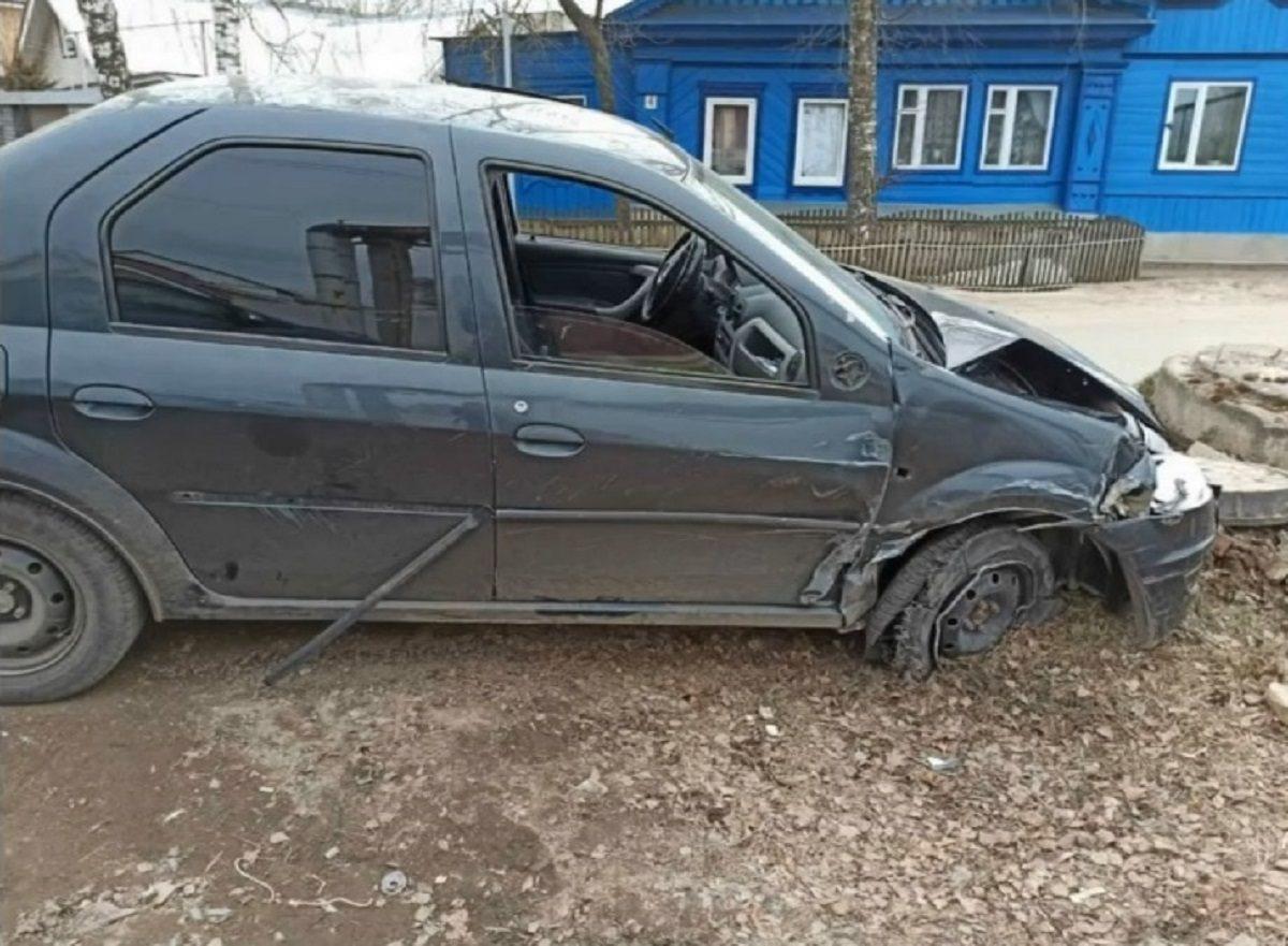 Пьяный водитель устроил несколько ДТП в Арзамасе, скрываясь от полицейских