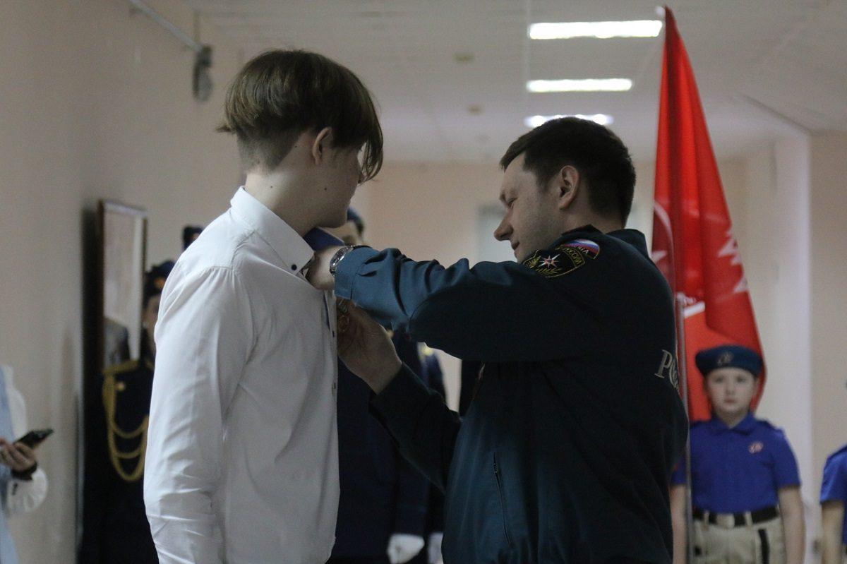Нижегородский школьник получил награду за спасение ребёнка на воде