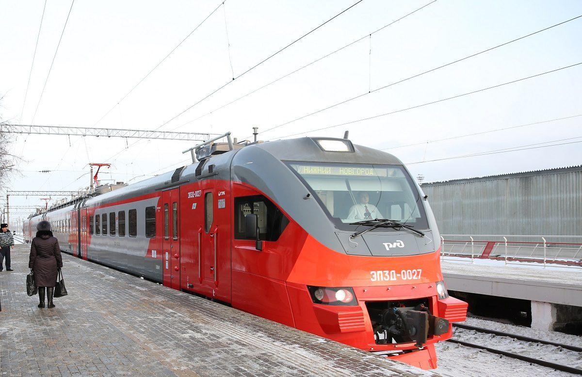 Расписание электричек на Уренском направлении изменится с 10 октября