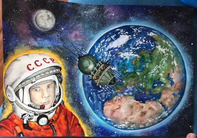 Юным нижегородцам предлагают поделиться космическими фантазиями в рисунках, поделках и видеороликах