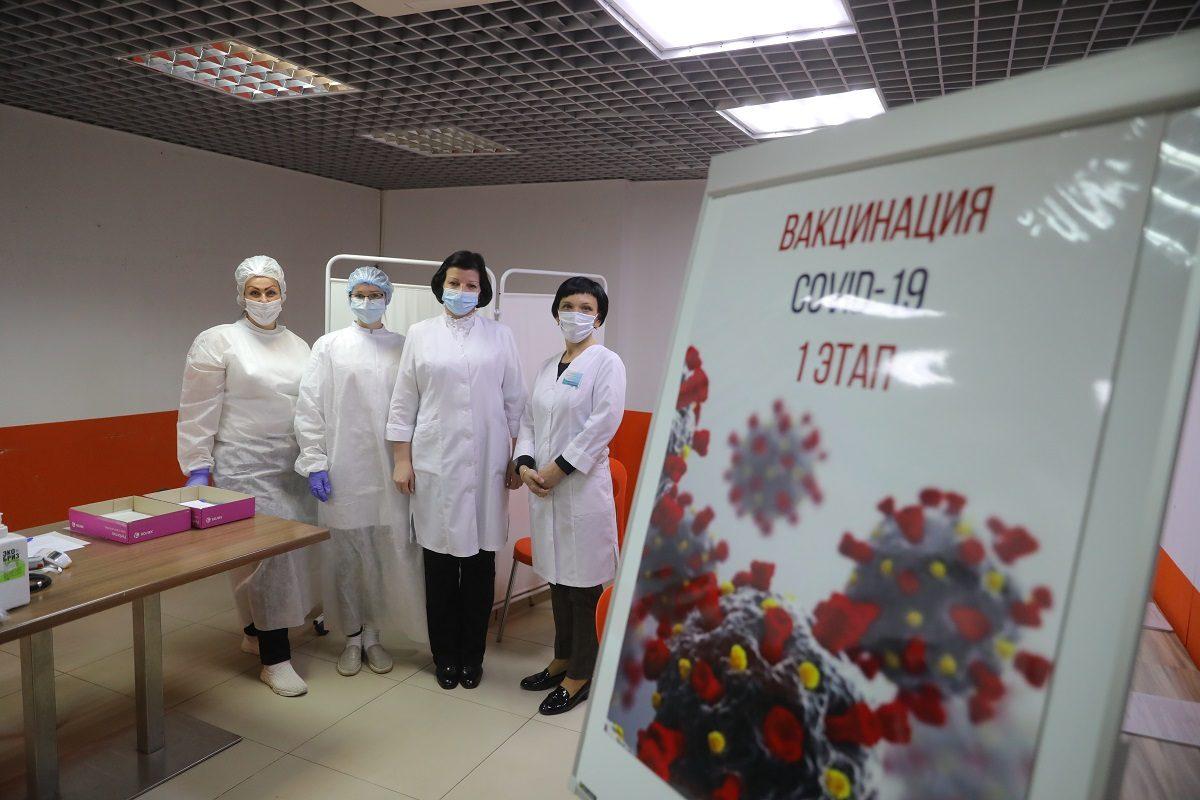 Пункты вакцинации от коронавируса в нижегородских ТЦ начали работать дольше с 6 июля