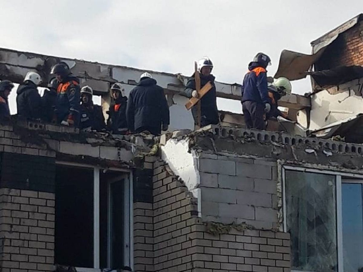 Жителям дома в селе Маргуша, где произошёл хлопок газа, разрешат забрать вещи из квартир