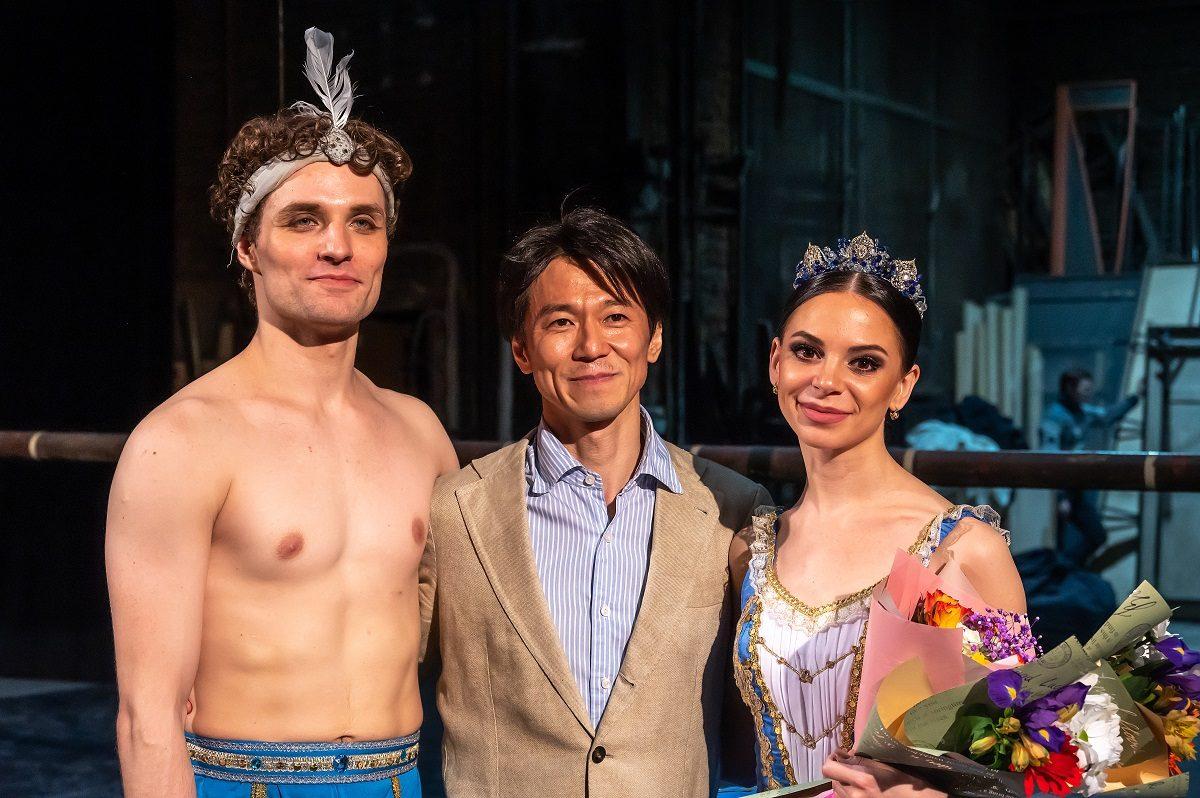Морихиро Ивата балет
