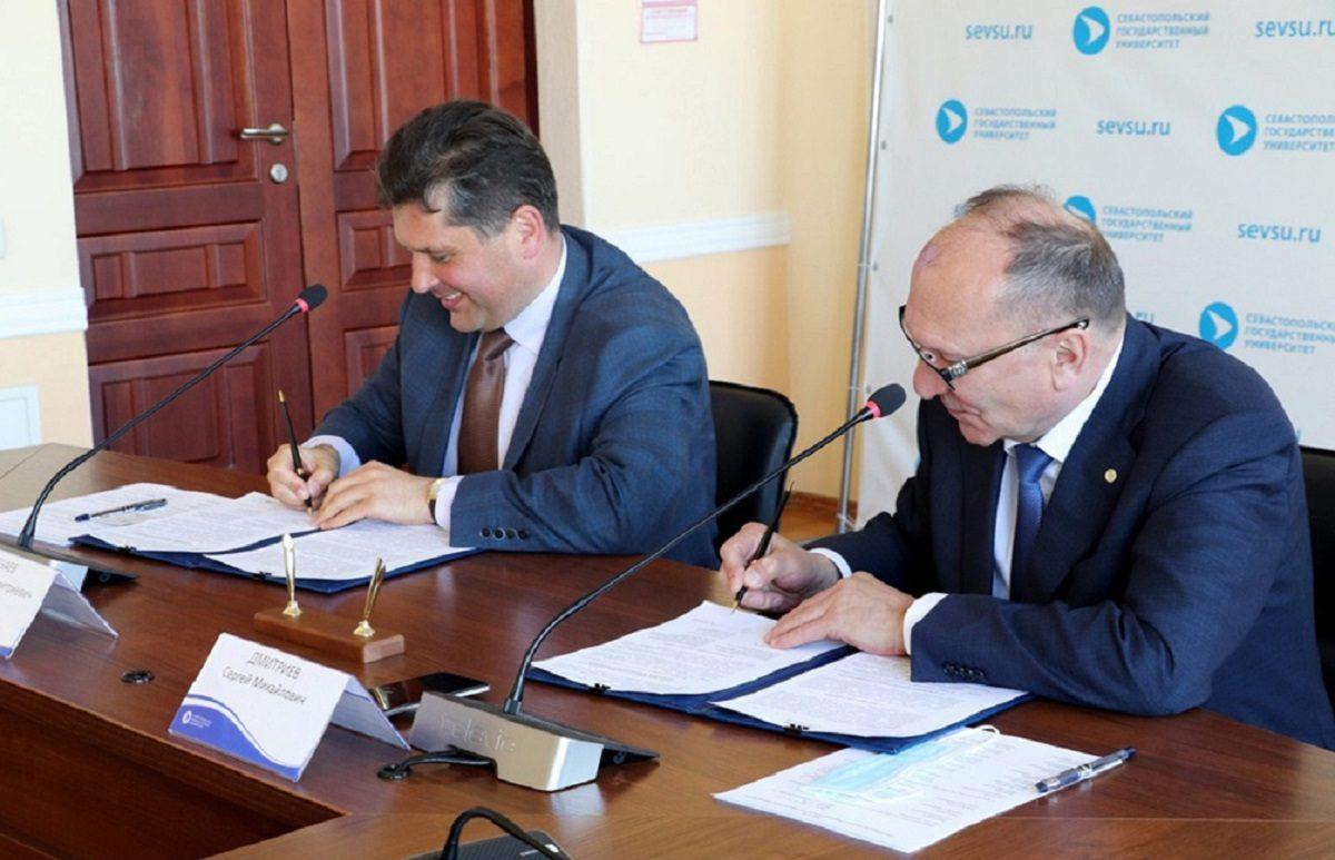 НГТУ им. Р.Е. Алексеева и Севастопольский госуниверситет подписали соглашение о сотрудничестве