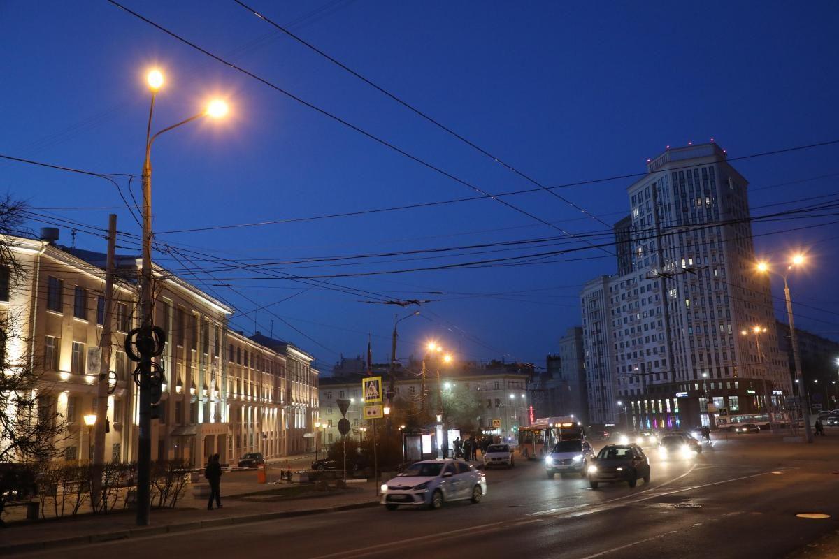 Модернизация системы освещения в центре Нижнего Новгорода завершится к 15 августа