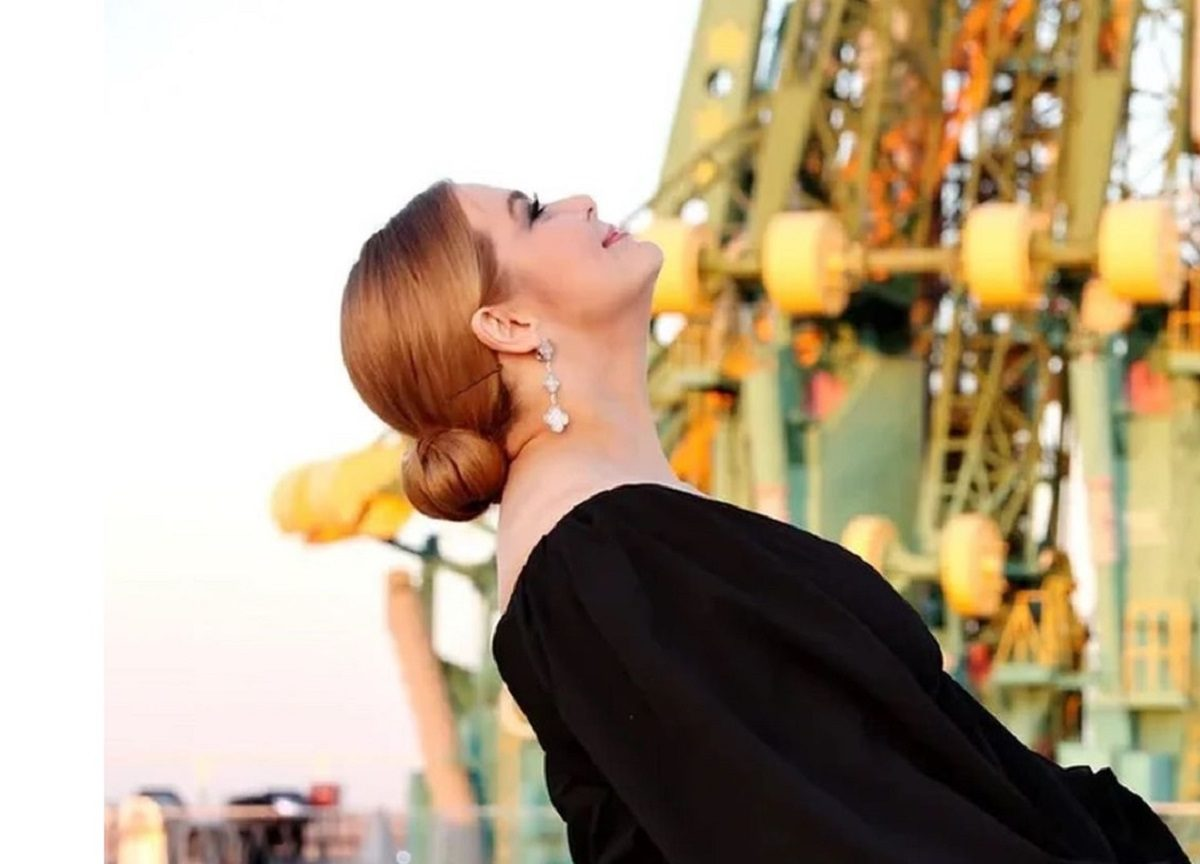 Ирина Пегова сделала «космические» фотографии на Байконуре