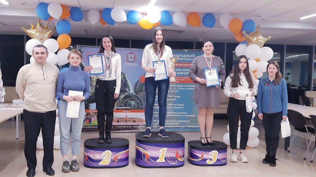 Нижегородка Екатерина Гольцева стала лучшей шахматисткой в ПФО