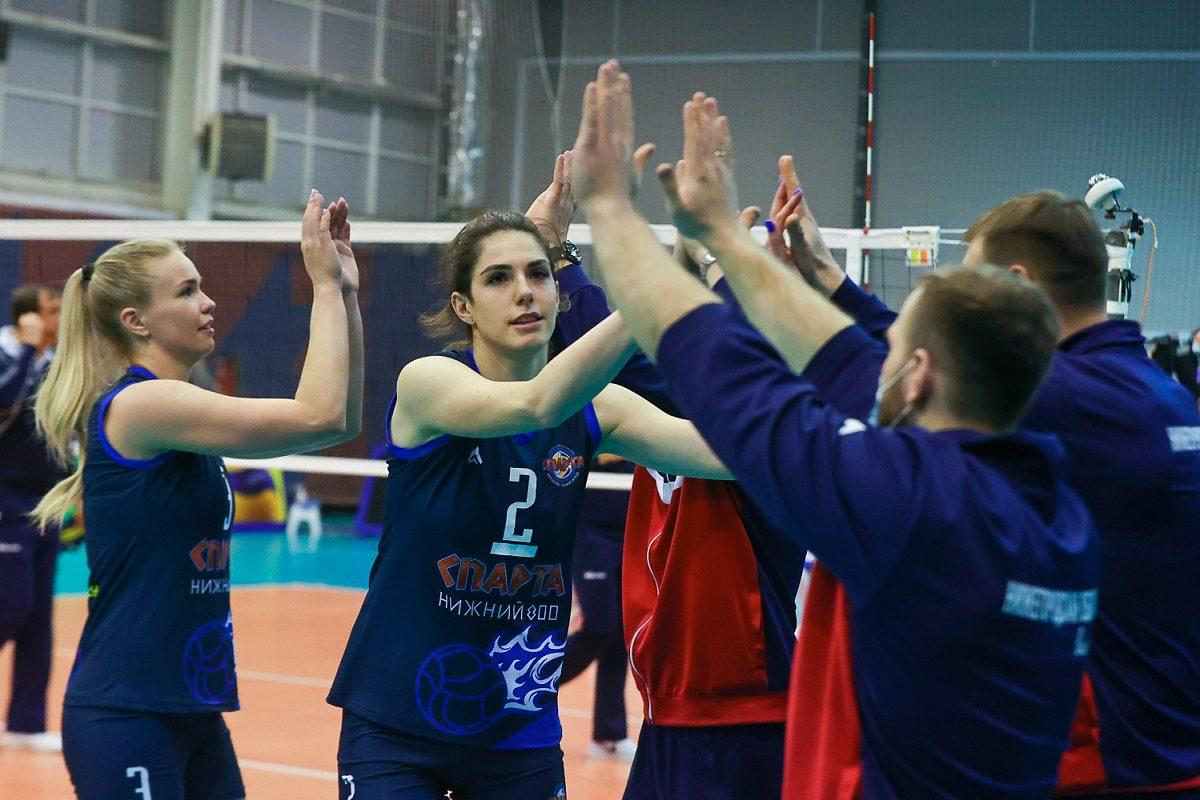 Капитан нижегородской «Спарты» Валерия Шатунова и ещё три игрока покидают команду