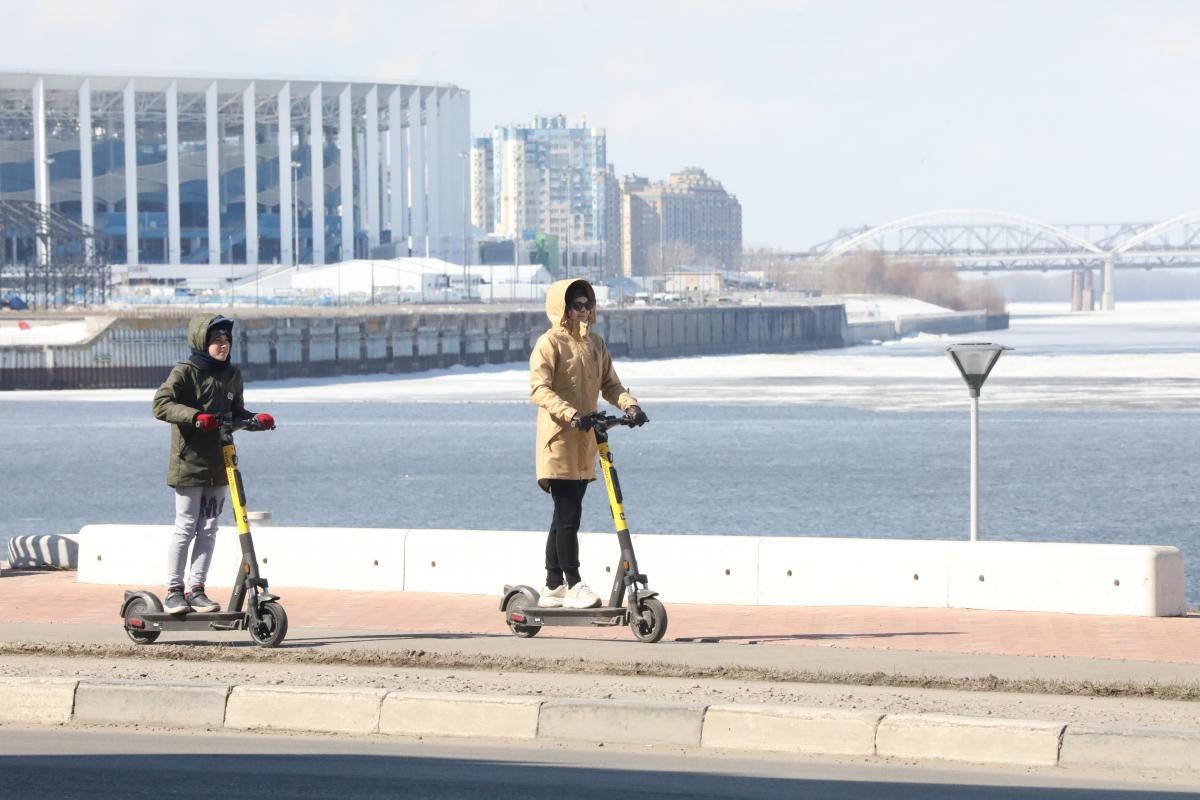 Стало известно, как работает новый сервис проката самокатов в Нижнем Новгороде