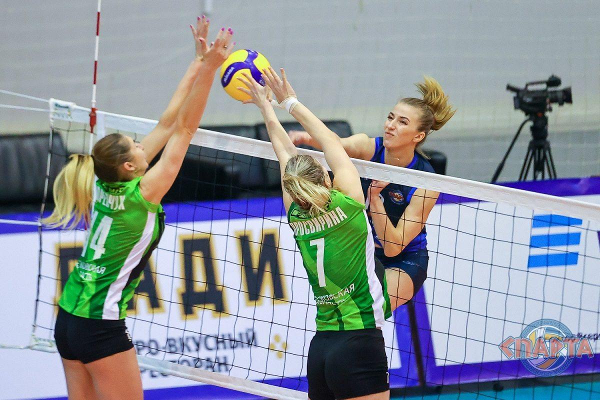 Волейболистки нижегородской «Спарты» с победы стартовали в турнире за 11-14-е места