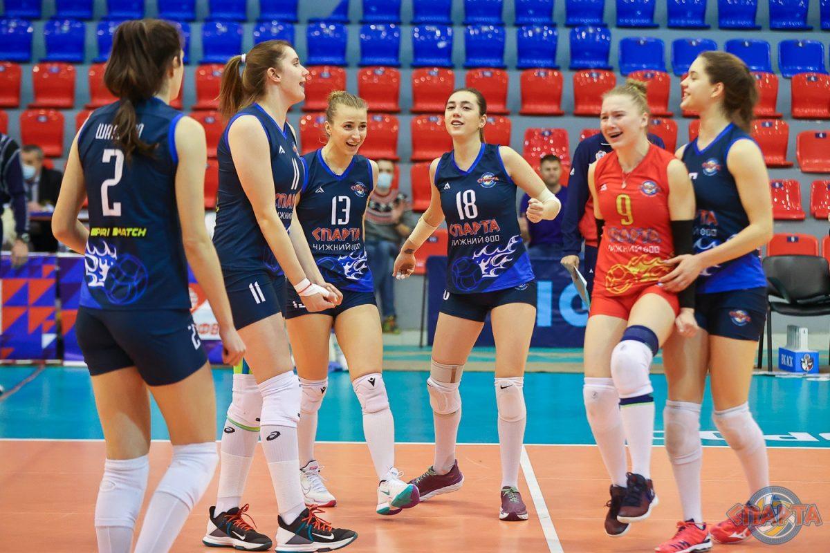 Волейболистки нижегородской «Спарты» заняли 12-е место в суперлиге