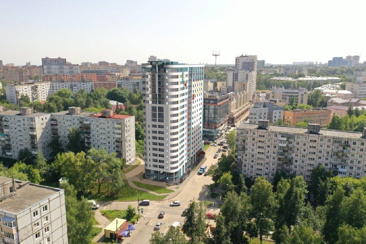 Новый 19-этажный дом планируют построить на перекрёстке улиц Ковалихинской и Семашко