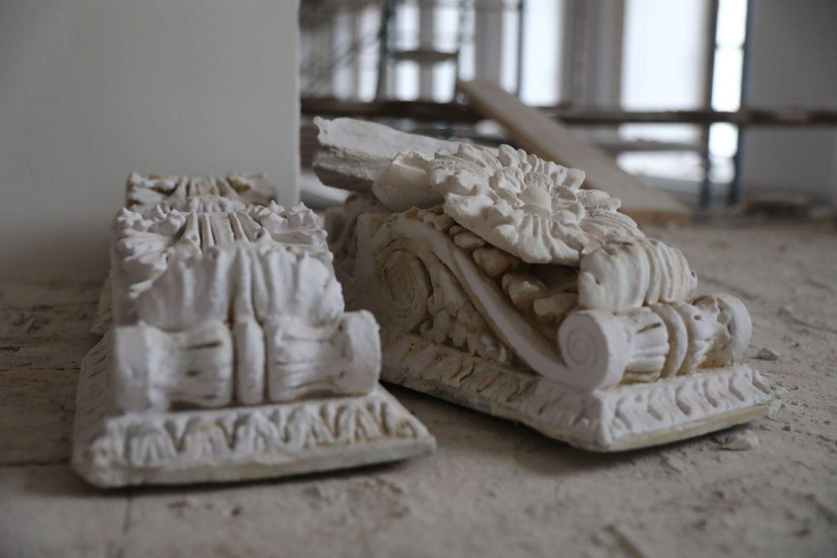 художественный музей реставрация лепнина