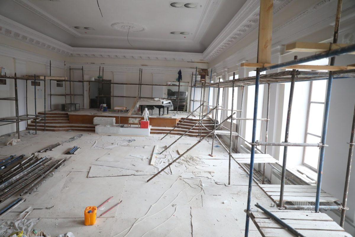 художественный музей реставрация ремонт