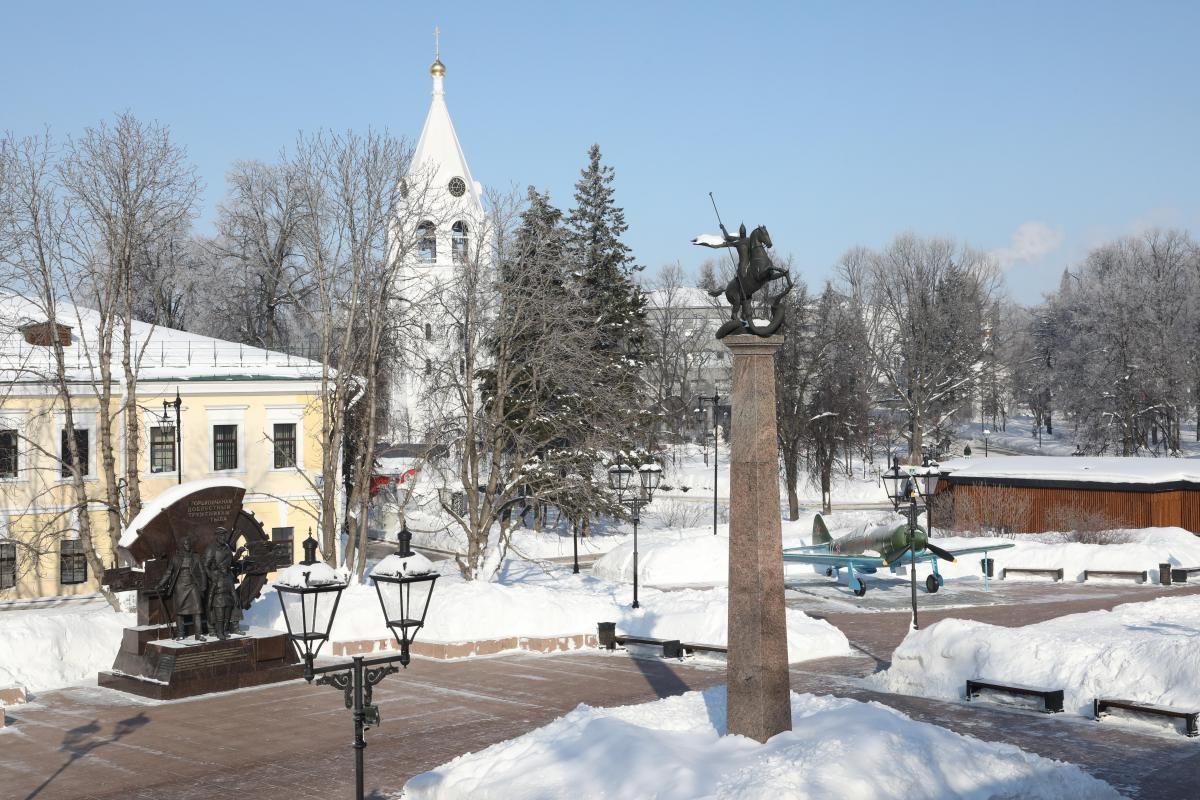 В Нижегородском кремле начинается капремонт Центральной площади