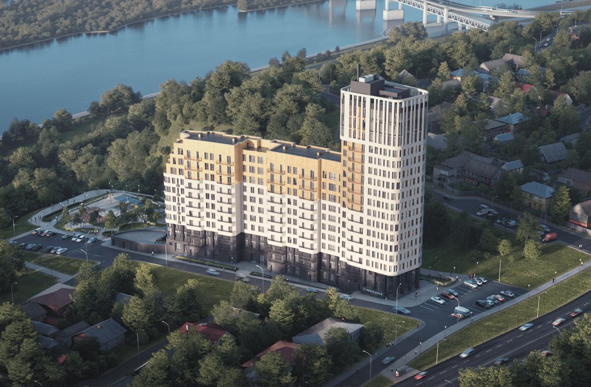 Дом с резиденциями построят в центре Нижнего Новгорода