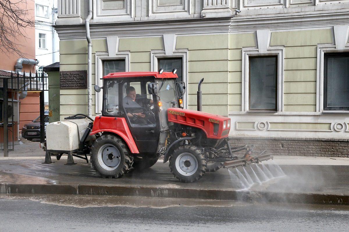 За некачественную уборку улиц в Нижнем Новгороде к подрядчикам будут применять санкции