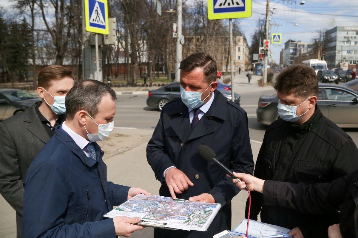 АО «Теплоэнерго» разработало почасовой план работ по замене участка теплосети на перекрестке улиц Белинского и Ванеева