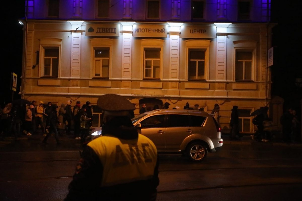 14,4 тысячи россиян стали участниками нелегальных акций