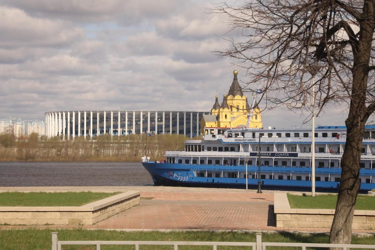 Сезон навигации на верхней Волге открыли в Нижегородской области