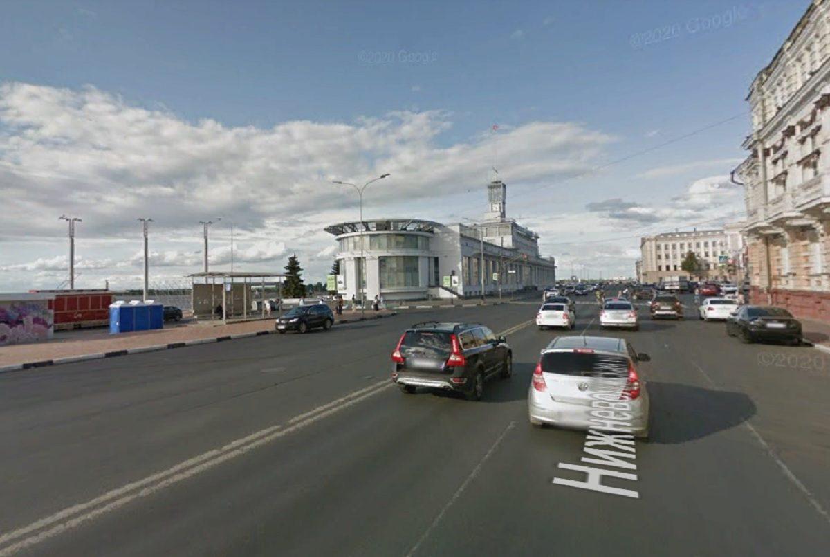 Дороги перекроют на Нижневолжской набережной и площадях Благовещенской и Маркина 17 июля