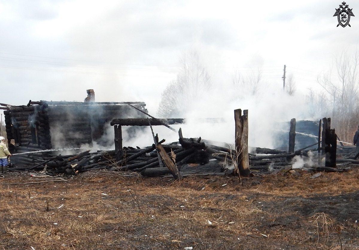 Тело 45-летнего мужчины нашли на пепелище сгоревшего дома в Шарангском районе