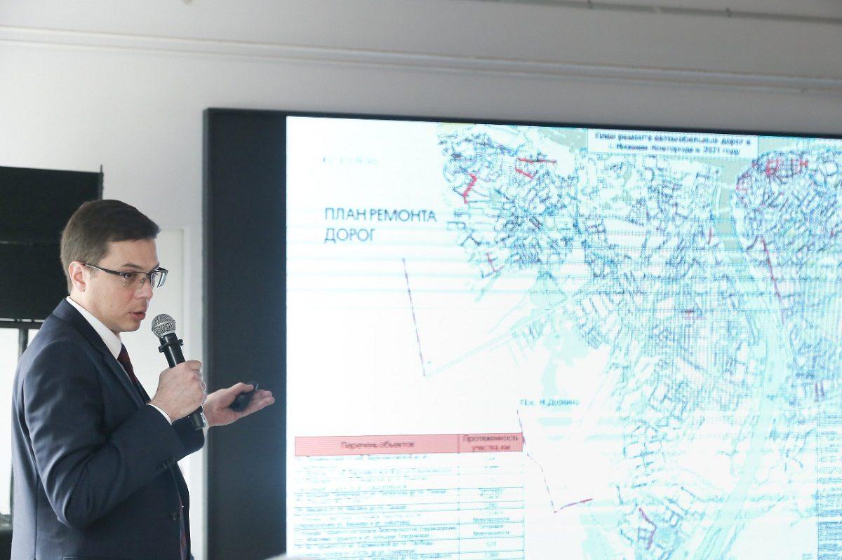 К 800-летию Нижнего Новгорода отремонтируют дороги в центре города