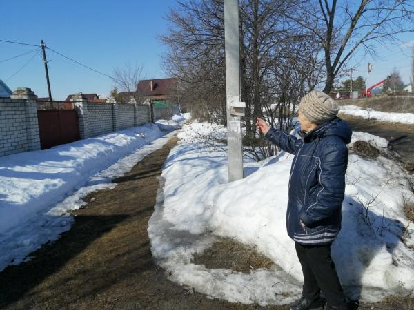 Свет на улице Марины Расковой вСормовском районе дали 20 лет спустя