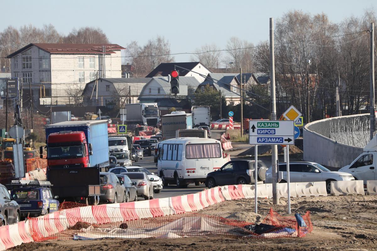 Глеб Никитин: «Транспортная развязка вОльгине построена более чем на60%»