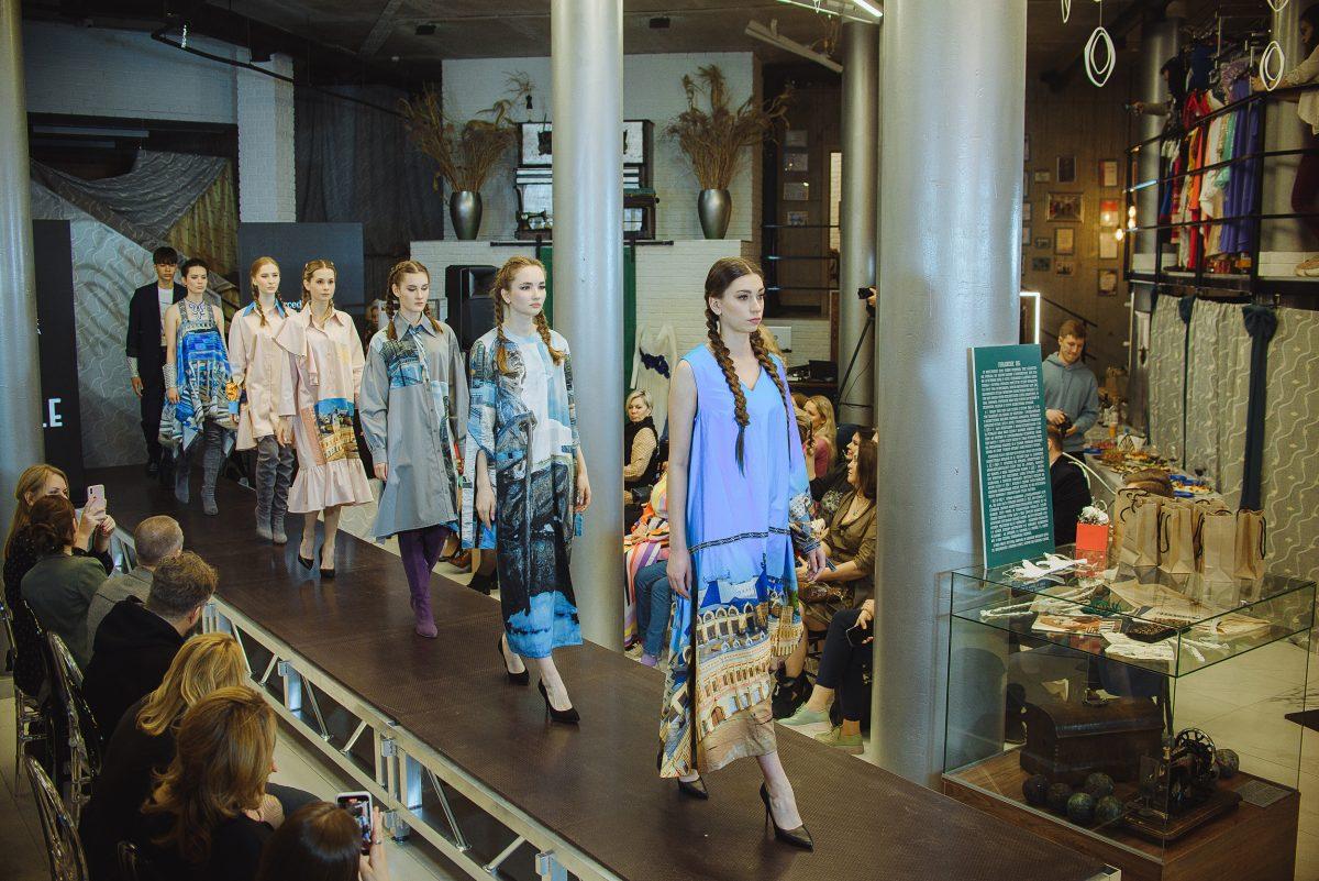 Дизайнер Ольга Парле рассказала о своем «первом томе» нижегородских сочинений для модного показа
