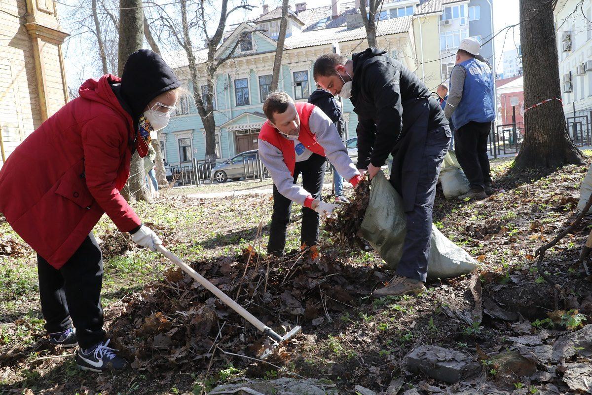 Международный субботник: как нижегородцы обновляют территорию региона к весне