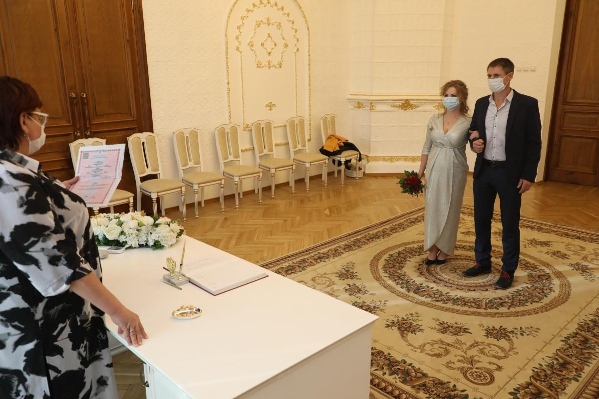 Почти 3 тысячи свадеб сыграли в Нижегородской области с начала 2021 года