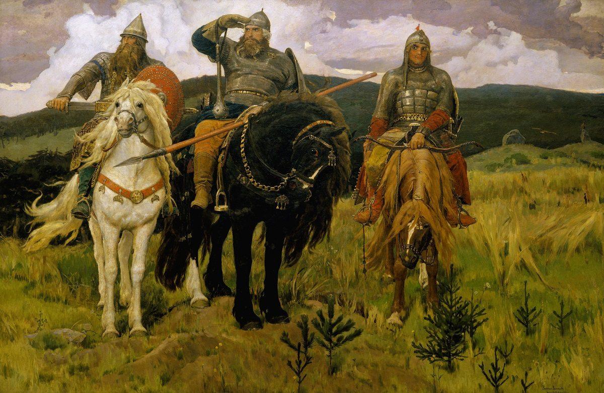 Русских богатырей объявили украинцами