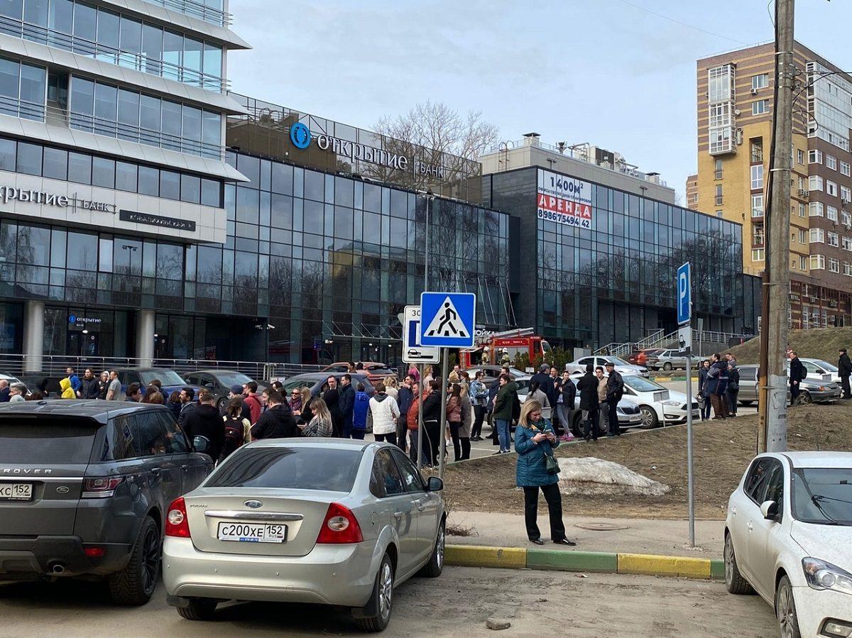 МЧС: взрывных устройств в Центре международной торговле обнаружено не было