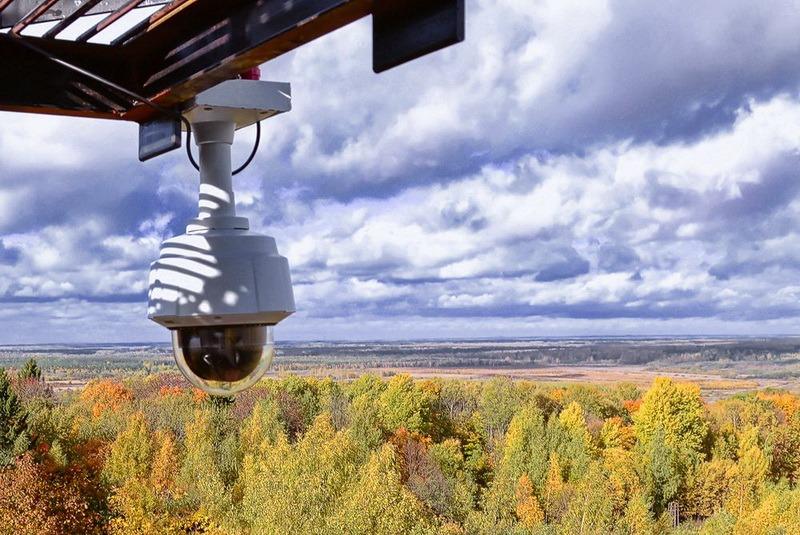 93 камеры видеонаблюдения помогут следить за порядком в нижегородских лесах впожароопасный сезон