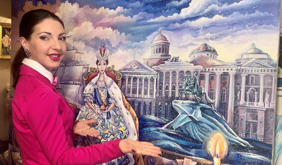 Персональная выставка нижегородского художника Алины  Клейнер «Красота в деталях» открывается в Нижнем