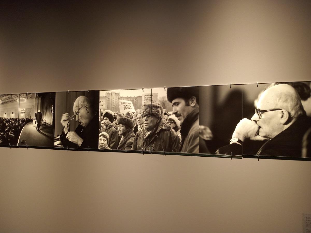 выставка третья идея академик сахаров ГЦСИ Арсенал