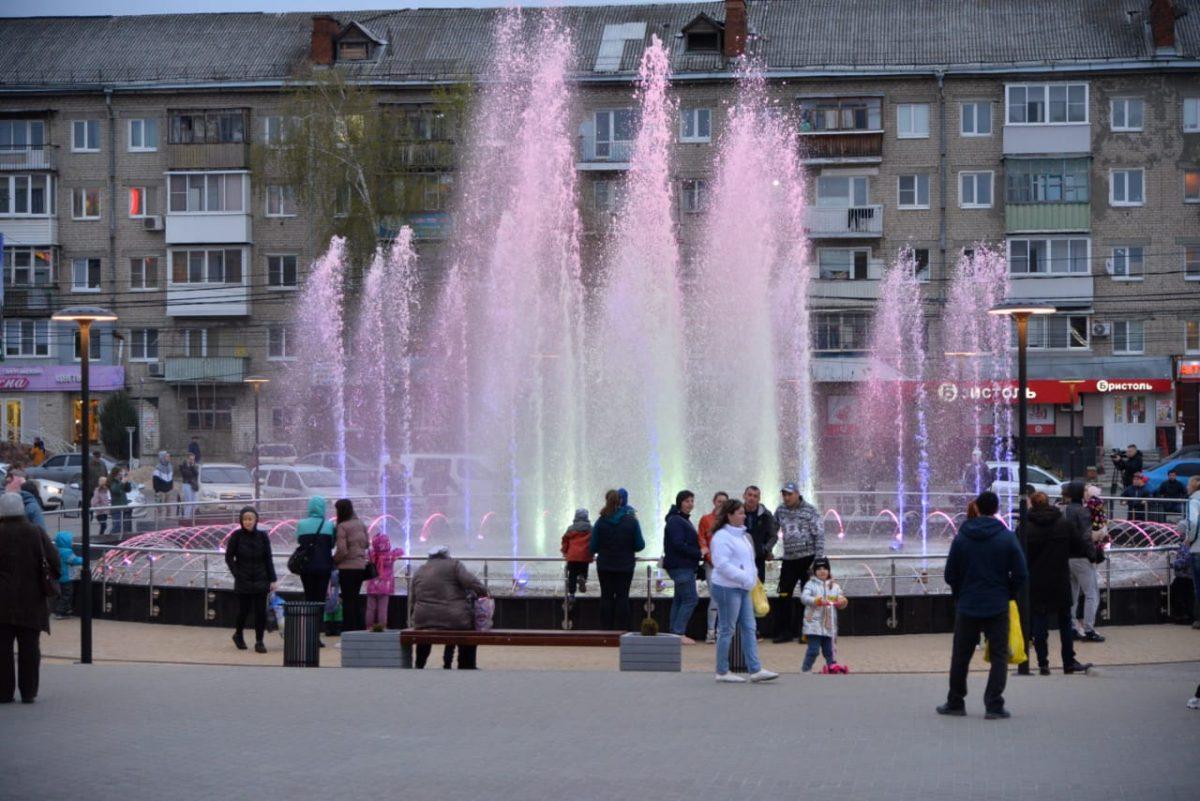 фонтан Торговая площадь Дзержинск
