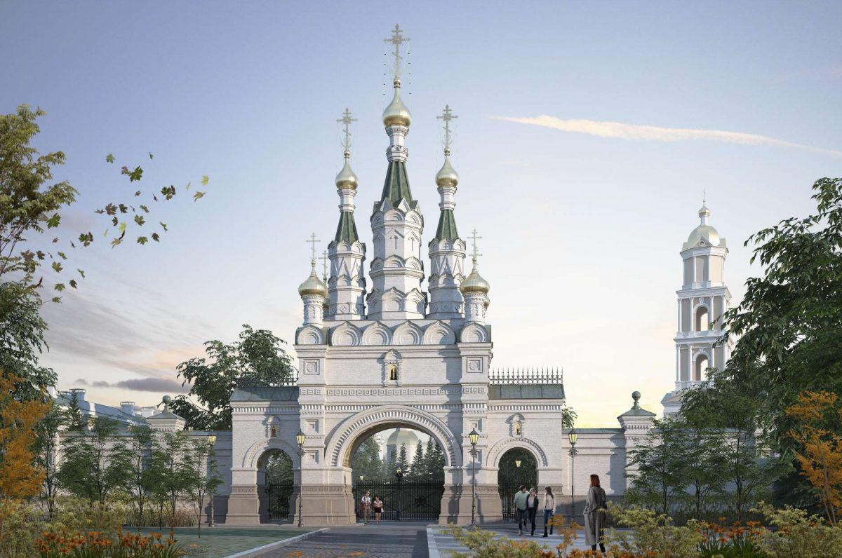 Тридцатиметровые Саровские врата появятся в Дивеевском монастыре